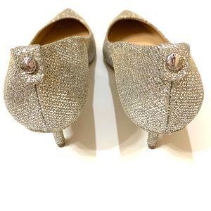 MICHAEL Michael Kors Shoes - NWOB Michael Kors Glitter Flex Kitten Pumps